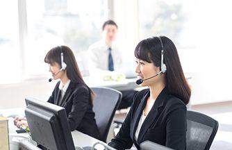 ネットショップを利用のお客様の電話、メール対応のお仕事