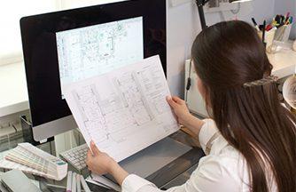 建築設計事務所でのお仕事★建築図面の作成をサポートするお仕事です!