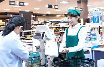 店舗販売のお仕事です★商品管理、接客対応等の店内作業