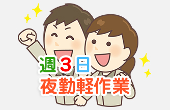 求人情報|【岐阜市三輪】週3日 夜勤ピッキング|ドゥパワーコーポレーション