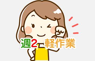 求人情報|【関市】月・火のみ ピッキング|ドゥパワーコーポレーション