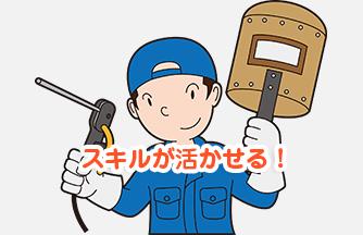 求人情報 【各務原市】小型製品の溶接スタッフ ドゥパワーコーポレーション